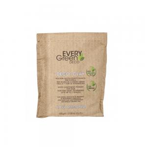 EVERY GREEN DECO-CLAY / Белая осветляющая пудра для открытых техник